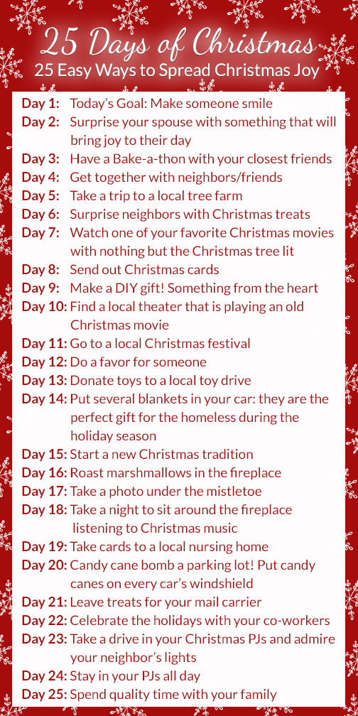 25 Days of Christmas -